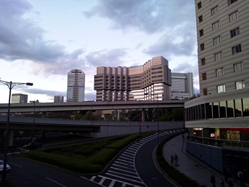 かなり縮んだ赤坂プリンスホテル