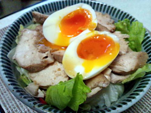 鶏胸肉を使ったチャーシュー丼