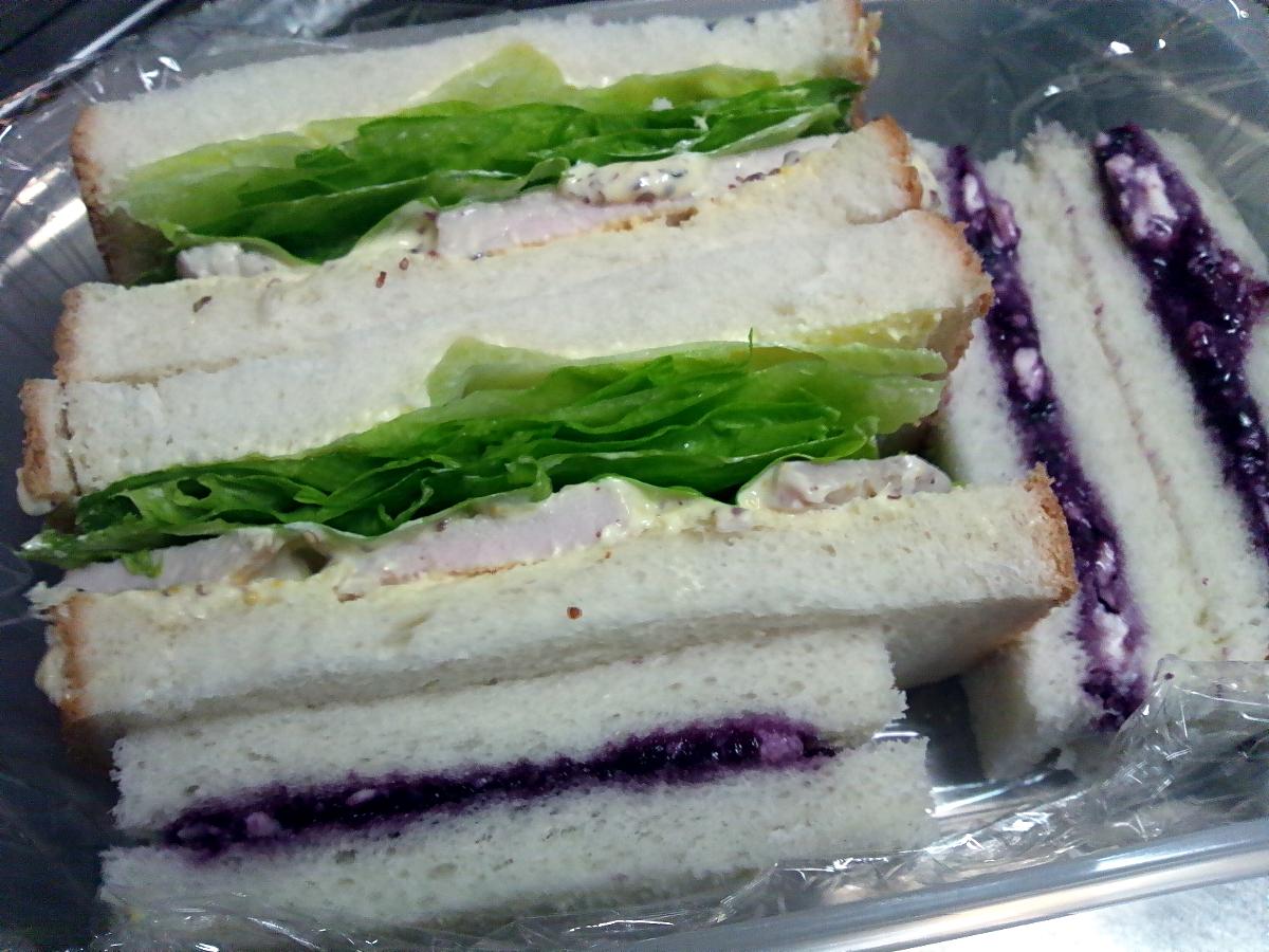 今日のサンドイッチ