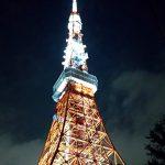 東京タワー方面から散歩して帰宅する