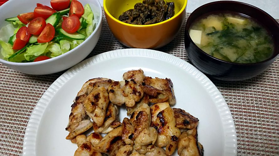 鶏肉の柚子胡椒炒め(2018/06/15)