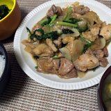 鶏肉とかぶの甘辛炒め(2018/07/13)
