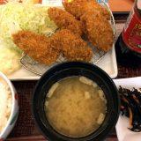 牡蠣フライ定食@デニーズ