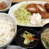 イカフライとカキフライ定食@笑助