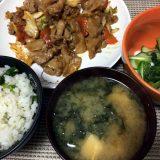 アスパラガスの炊き込みご飯(2019/06/07)