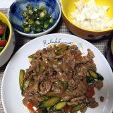 豚肉とアスパラガスのオイスターソース炒め(2019/06/13)