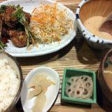 鶏もも肉の香味唐揚げ&特製出汁とろろ定食@kawara CAFE&KITCHEN + PLUS