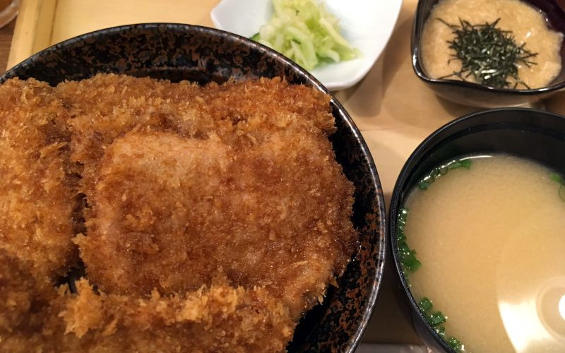とろろかつ丼+ご飯大盛り@新潟カツ丼 タレカツ