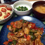 鶏もも肉のチリソース炒めエスニック風ふたたび(2019/08/04)