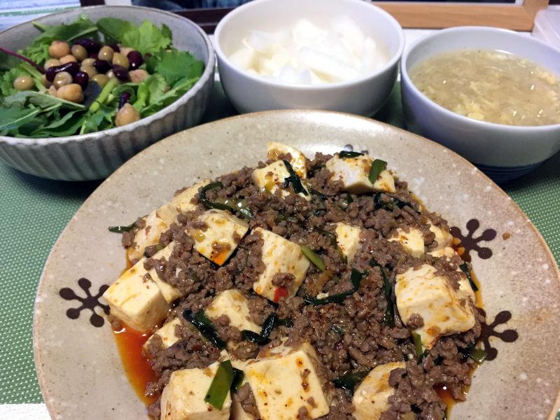 本格風っぽい麻婆豆腐