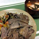 焼肉とキムチスープ(2019/09/03)
