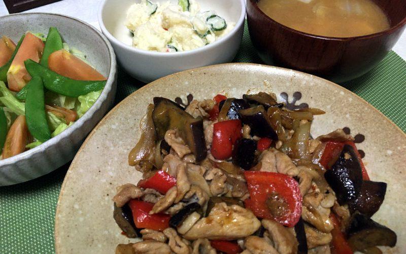 豚こま肉と野菜のピリ辛オイスターソース炒め