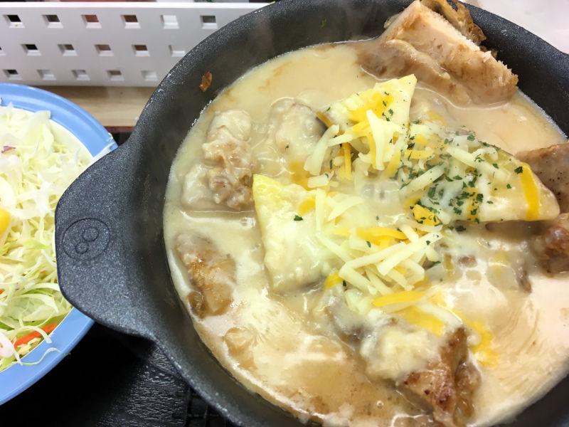 シュクメルリ鍋定食@松屋