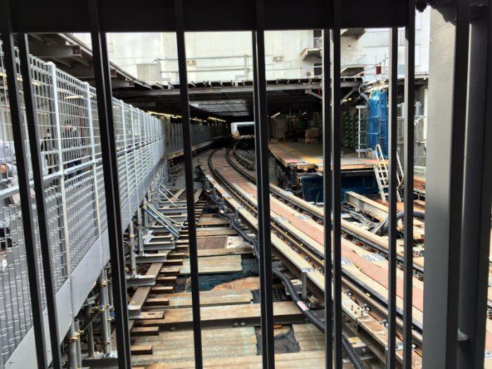 銀座線渋谷駅旧ホーム