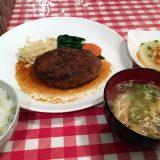 ハンバーグステーキ(和風ソース)@せきぐち亭