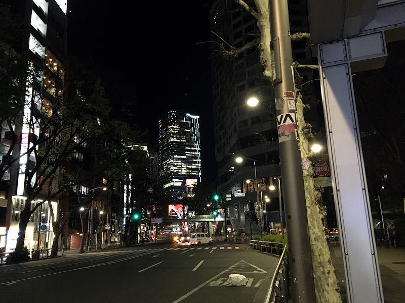 人のいない渋谷