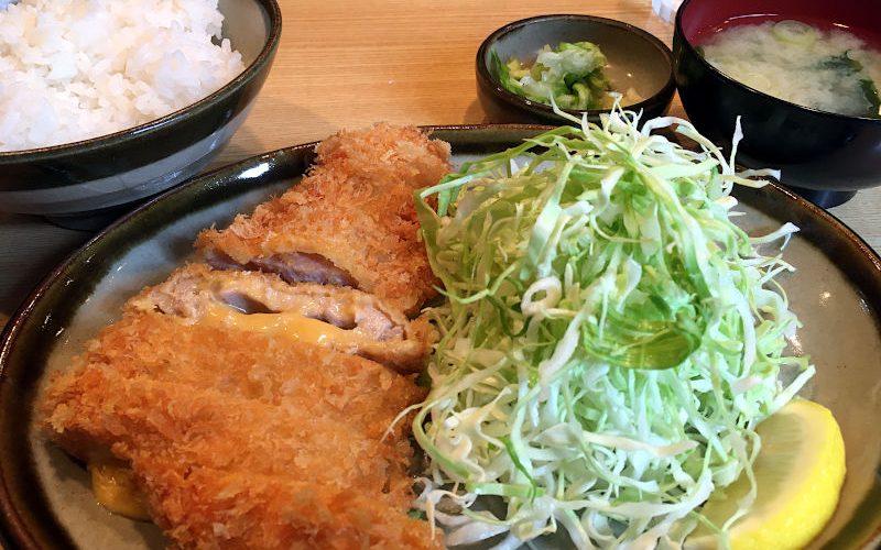 チーズロースかつ定食@地元とんかつ屋