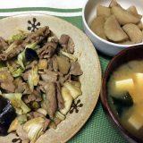 肉野菜のオイスターソース炒め(2020/07/09)