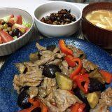 豚肉と夏野菜のチリソース炒め(2020/07/22)