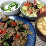 豚肉と夏野菜のチリソース炒め