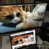 MacBook Pro 13inch に液晶ディスプレイをつないでデュアルディスプレイ環境にした