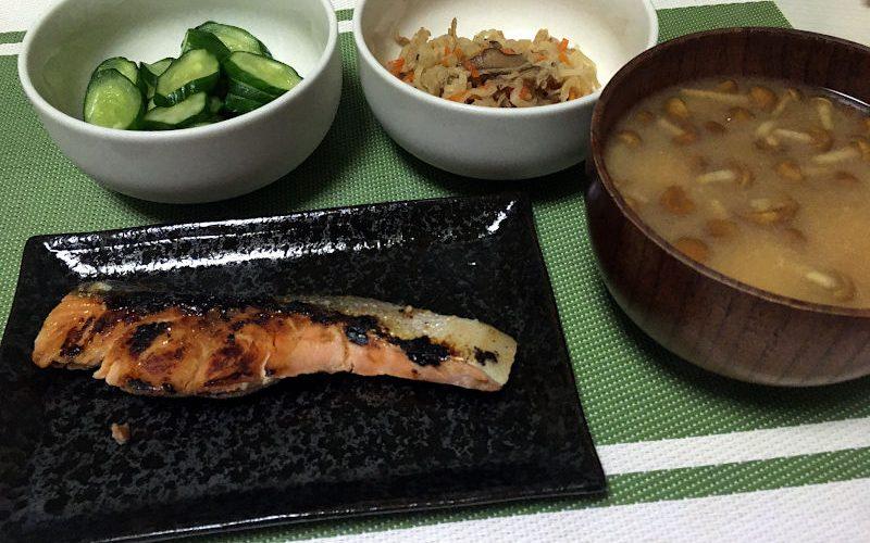 生鮭の塩麹焼き