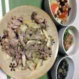 豚肉と長芋の醤油炒め(2020/09/07)