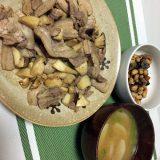 豚肉とエリンギのポン酢炒め