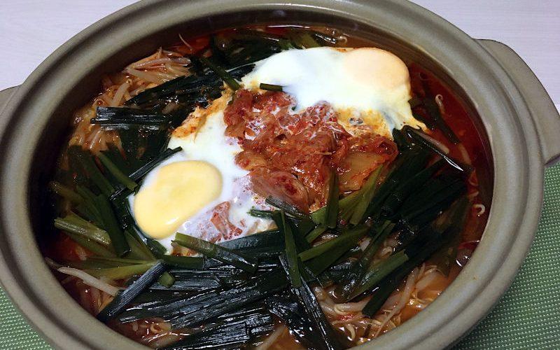 キムチ鍋(2020/09/21)