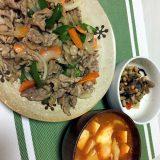 豚肉と野菜の醤油炒め