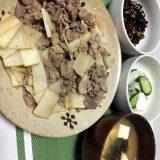 豚肉と長芋の醤油炒め(2020/10/10)