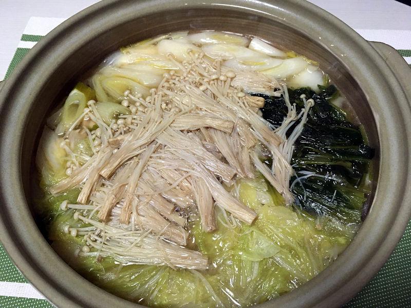 ちゃんこ鍋生姜風味