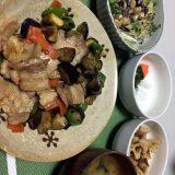豚肉と茄子の豆板醤炒め
