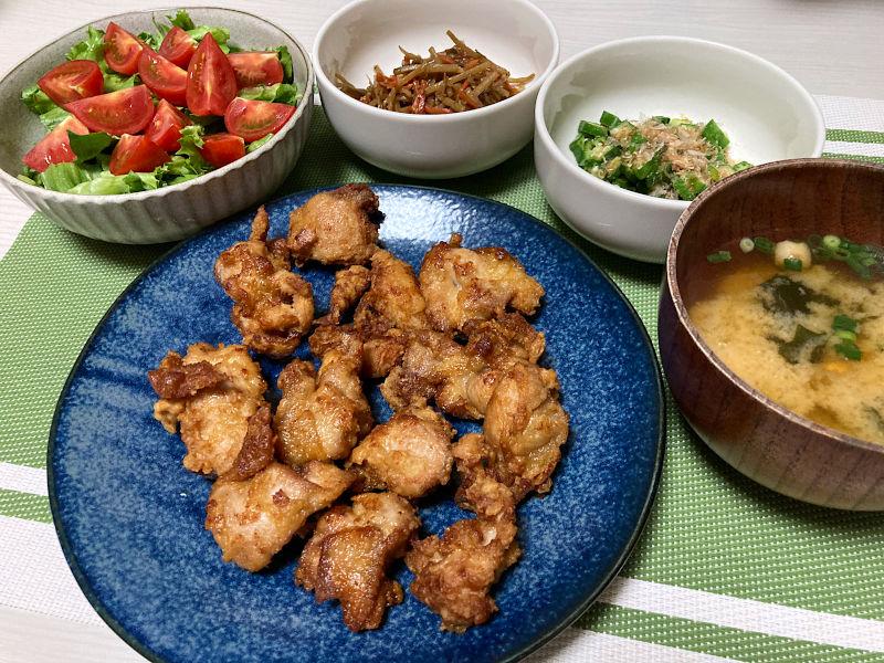 土井善晴さんレシピの鶏のから揚げ