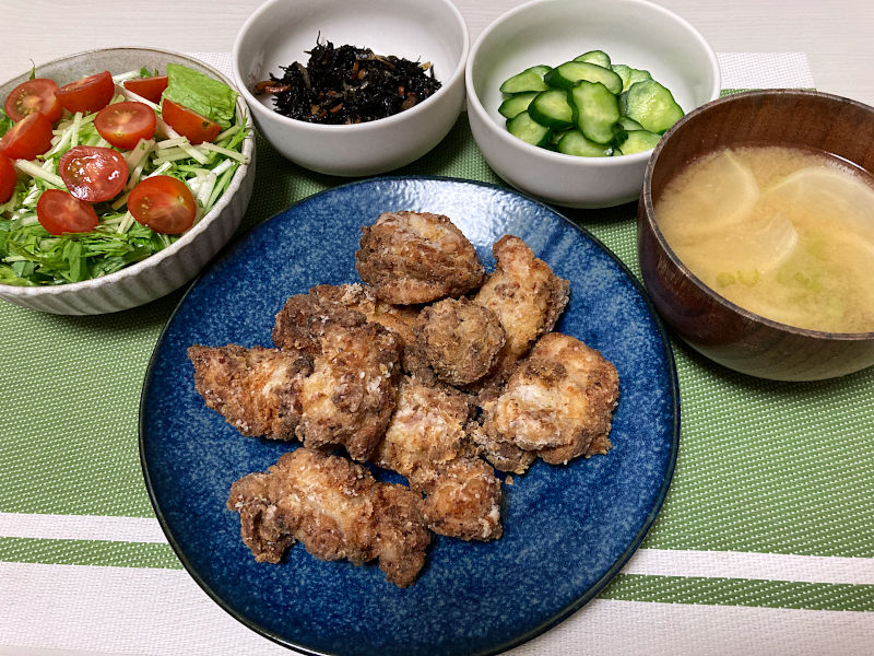 鶏の唐揚げ柚子胡椒風味