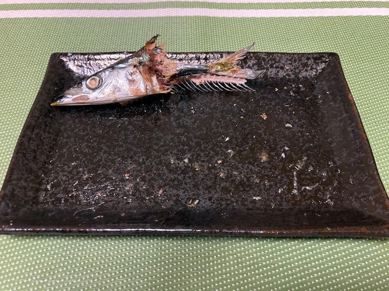 秋刀魚の塩焼き、その後